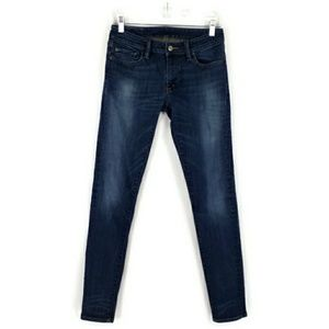 Denim & Supply RL Dark Stonewash Skinny Jeans 28